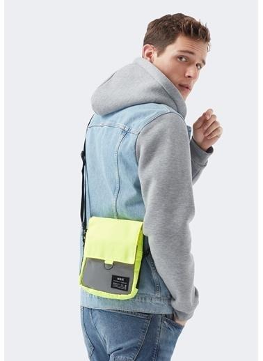 Mavi Messenger / Askılı Çanta Yeşil